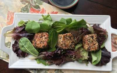 Low Carb Seared Sesame Tuna