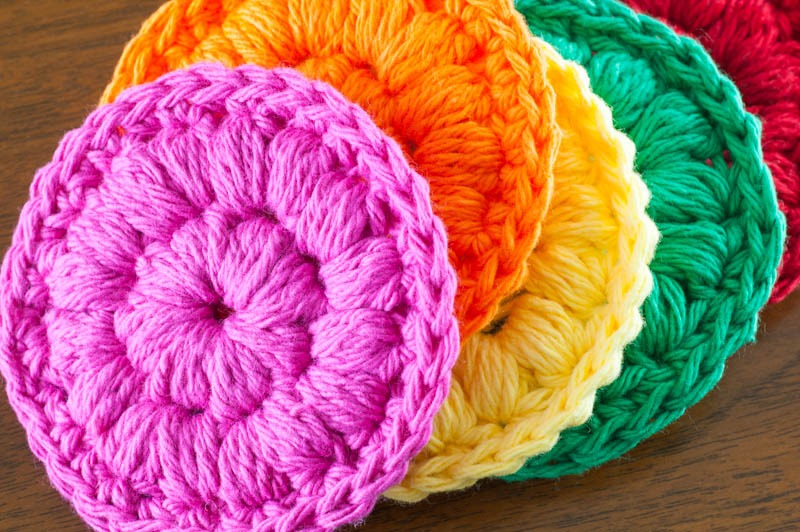 #Crochet Face Scrubbies | YouShouldCraft.com #freepattern