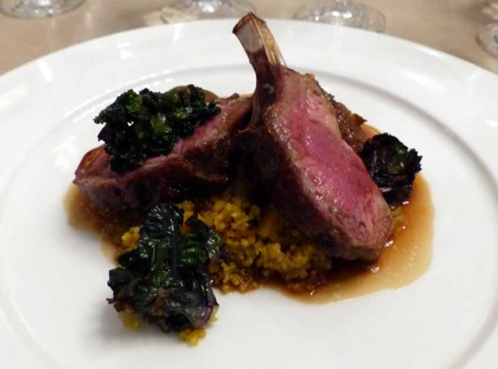 Rack of Romney Marsh Lamb with cous cous   ytTastes   Yvanne Teo