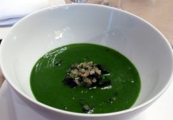 potato and parsley soup at Berners Tavern | ytTastes | Yvanne Teo