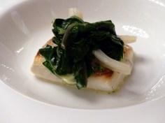 sea bass and kale at Berners Tavern | ytTastes | Yvanne Teo
