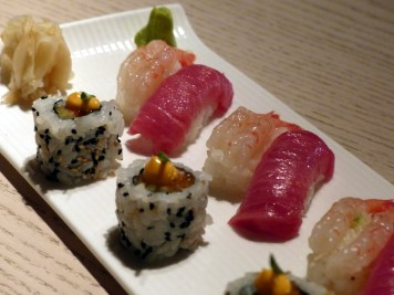 sushi selection at Sake no Hana | ytTastes | Yvanne Teo