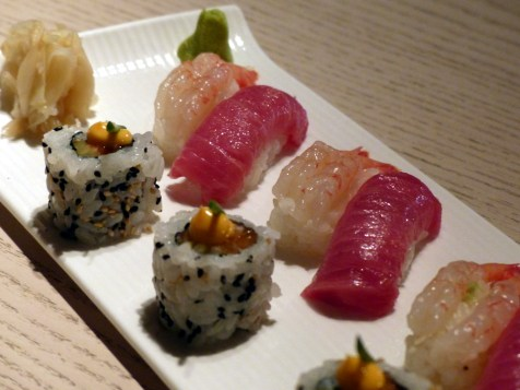 sushi selection at Sake no Hana   ytTastes   Yvanne Teo