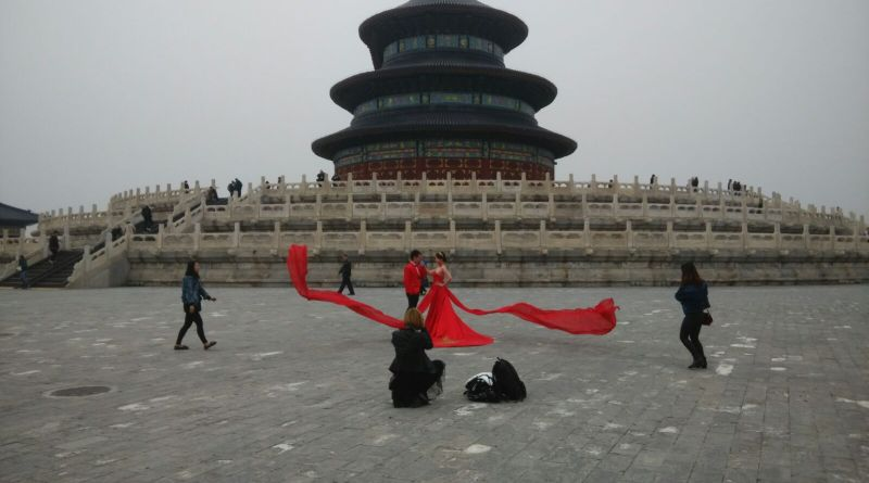 Marriage in Heaven temple China