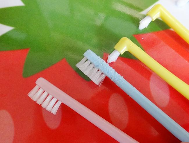今使っている歯ブラシ