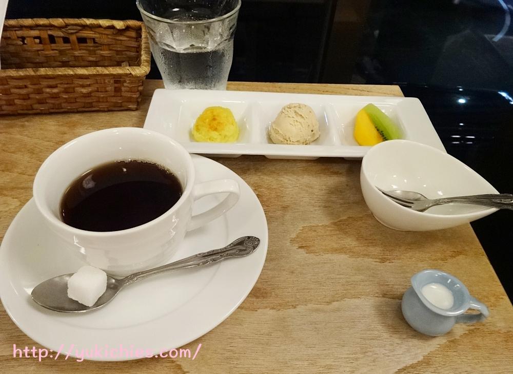 京都cafe sora 思風都 野菜の甘酢あんかけセットのデザート