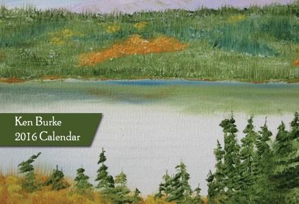 KenBurke_2016_Calendar_CanadianLandscapes