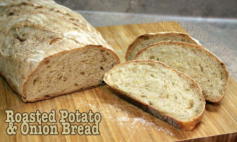 Roasted Potato and Onion Bread