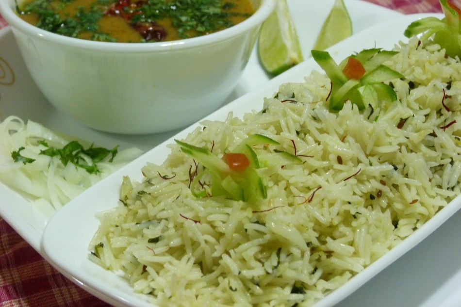 METHI JEERA RICE | Cumin and fenugreek flavoured rice