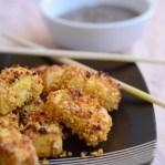 Quinoa crusted Tofu