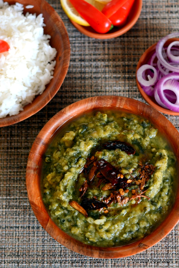 DAL PALAK | SPINACH LENTIL CURRY