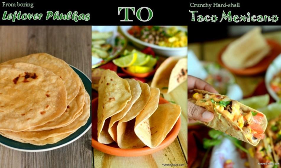 Phulka Tacos