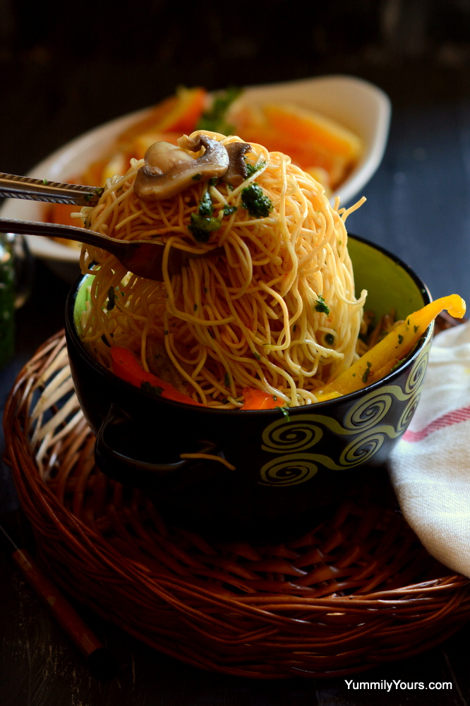 Indo chinese Noodles recipe