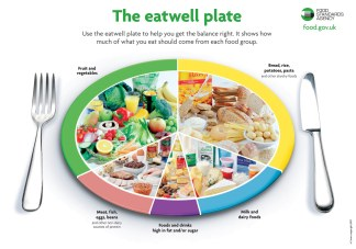 Food pyramid revamped with plate shape paleo diet recipes eat forumfinder Choice Image