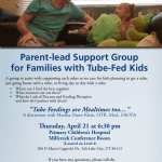 April 2016 Tube Feeding Support Group