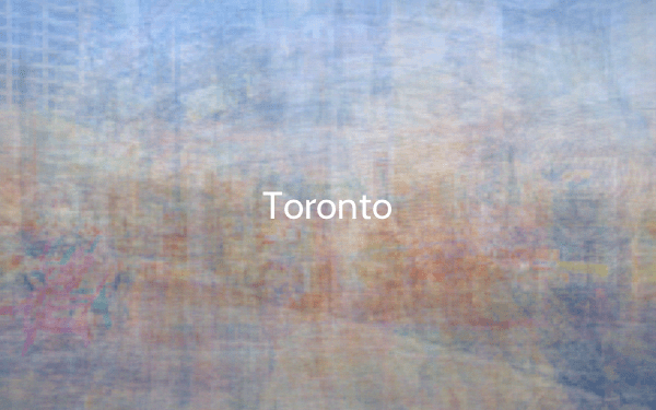 Color of Toronto The Colour of Cities