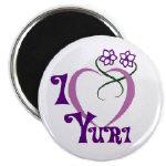 I Love Yuri Magnet