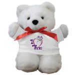 I Love Yuri Teddy Bear