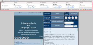 [2015/12/26~2016/01/26] Media Language Laboratory Facebook App + Google Analytics