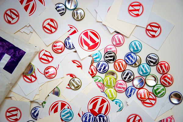WordPress Stickers and Badges