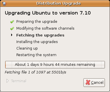ubuntu 710 upgrade