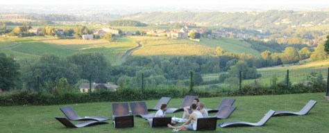 Contiki Chateau de Cruix Vineyards France Beaujolais via ZaagiTravel.com