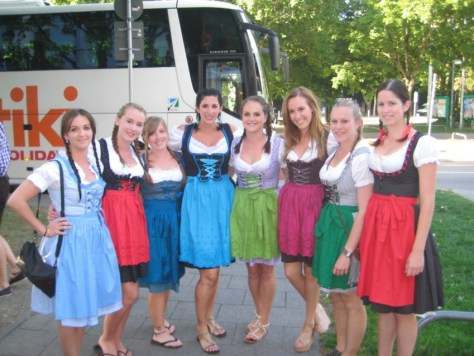 Contiki Munich Germany Dirndl via ZaagiTravel.com
