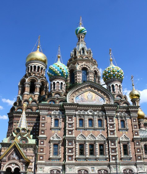 Church of our Savior on Spilled Blood in Saint Petersburg, Russia via ZaagiTravel.com