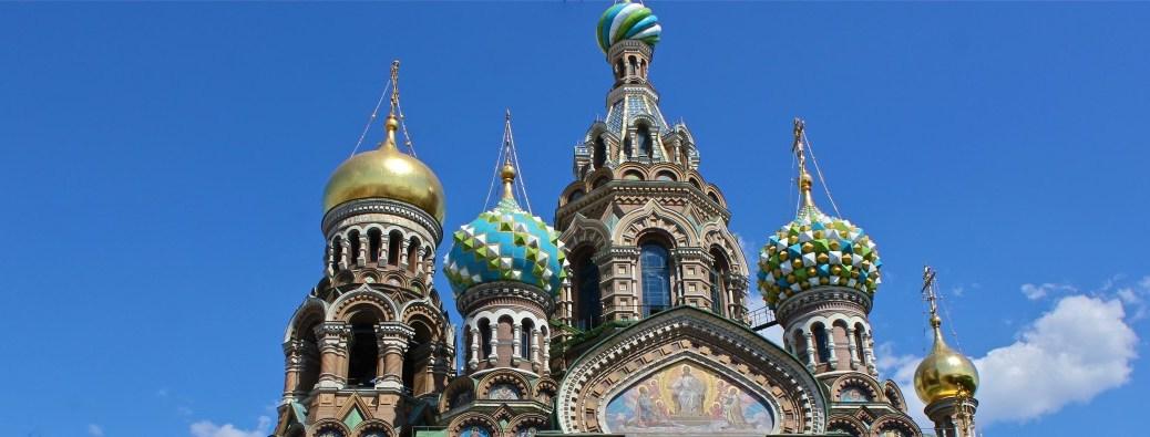 Church of our Savior on Spilled Blood in Saint Petersburg, Russia via ZaagiTravel.com