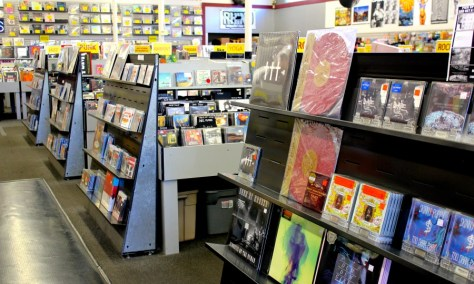 "Rhino Records Music Store in the Claremont ""Village"", California via ZaagiTravel.com"