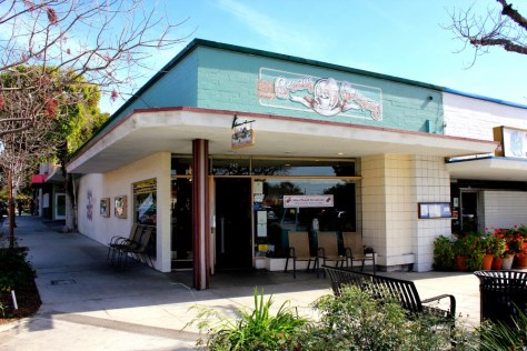 Bert and Rocky's Ice Cream Shop, Claremont, California via ZaagiTravel.com