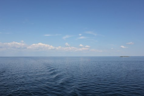 Ocean view from the MV Explorer Cruise Ship from Semester at Sea Study Abroad via ZaagiTravel.com