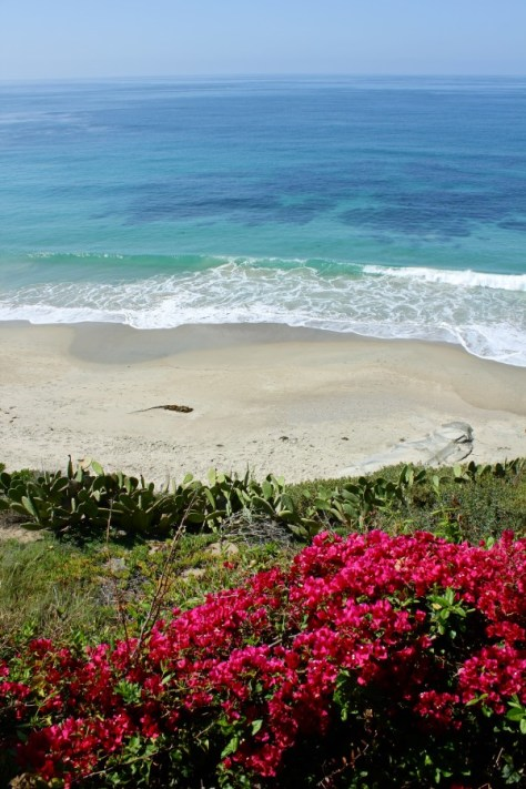 View from the Cliff Restaurant in Laguna Beach, Orange County, California via ZaagiTravel.com