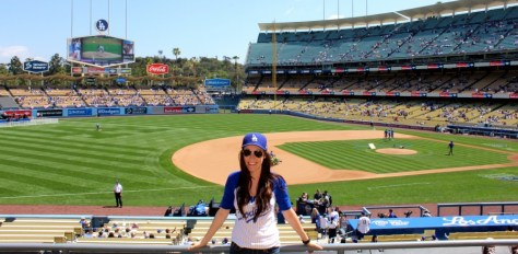 Opening Weekend at Dodger Baseball Stadium in Los Angeles, California via ZaagiTravel.com