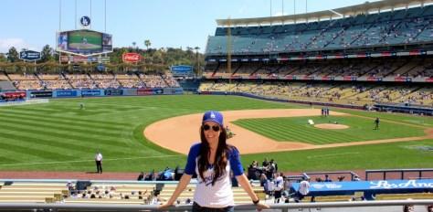 Opening Weekend at Dodger Baseball Stadium in Los Angeles, California via ZaagiTravel.com