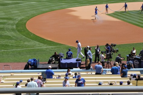 Matt Kemp's return to Dodger Baseball Stadium in Los Angeles, California via ZaagiTravel.com