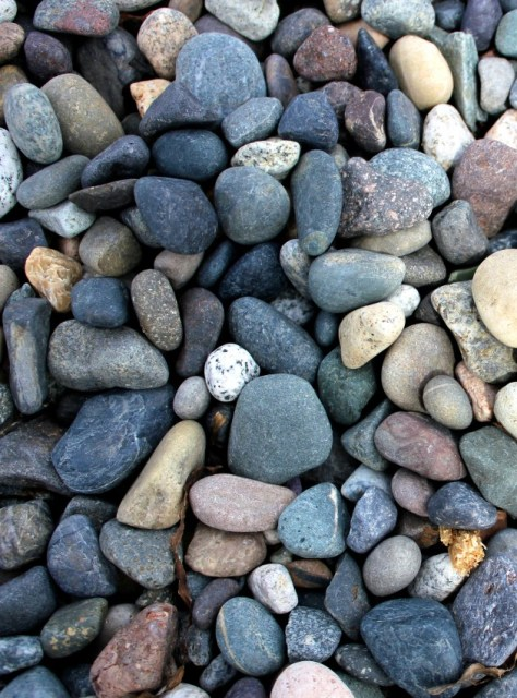 Rocks and stones on the beach in White Rock, British Columbia, Canada via ZaagiTravel.com
