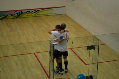 James and Brett Meyers beating the Guinness World Record in squash via ZaagiTravel.com