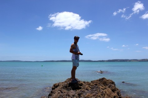 James on the Maraetai Coast in New Zealand via ZaagiTravel.com