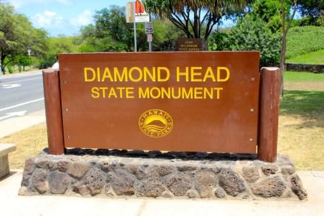 Diamond Head in Honolulu, Oahu, Hawaii via ZaagiTravel.com