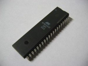 ATmega32 DIP 40-pin package from Atmel