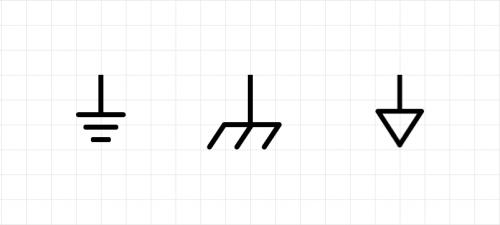 ground-symbols-earth-chasis-signal