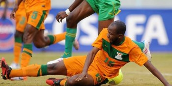 Munthali in action for Chipolopolo