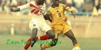 Archives 1996 Zambia v Ghana