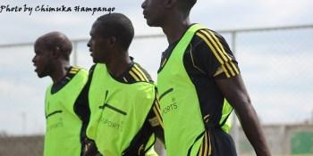 Lusaka Dynamos Warm up