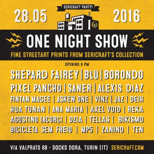 One Night Show at Sericraft
