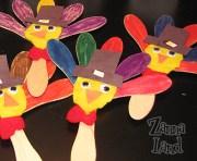 Wooden Spoon Turkeys