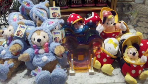 """Easter Duffy and Mickey and Minnie plush """"Eggs"""""""
