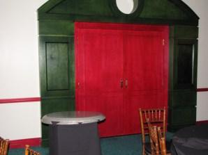 Wonders Lounge red doors