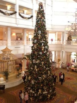 Grand Floridian tree upstairs